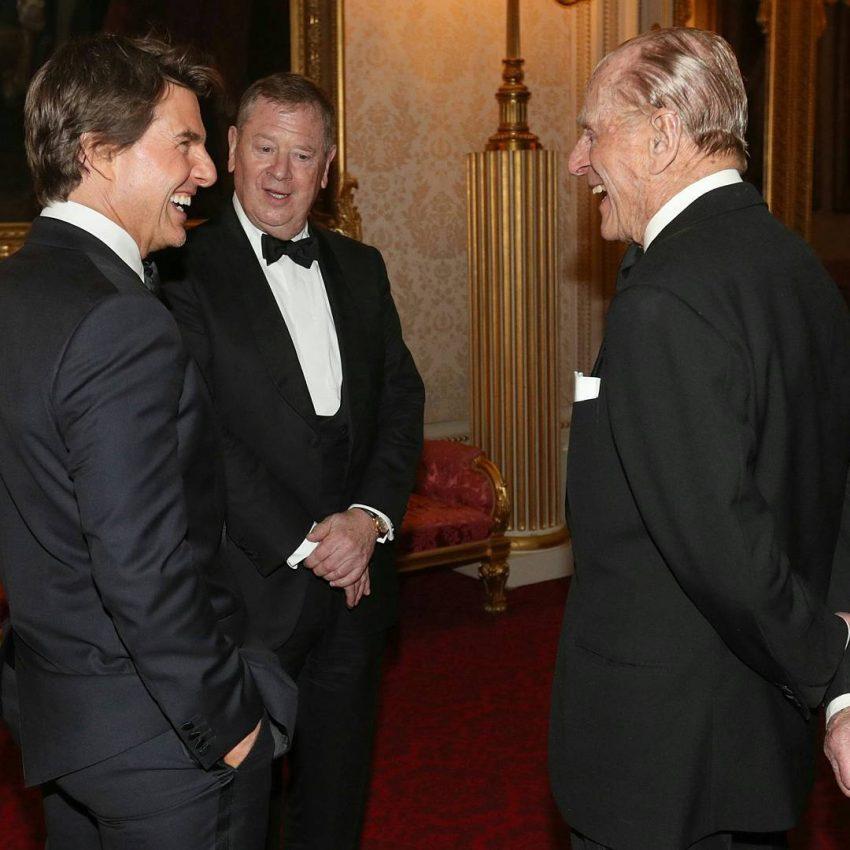 Tom Cruise e Duque de Edimburgo
