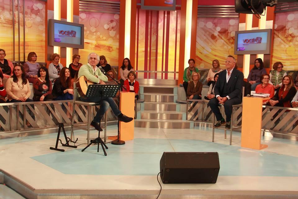 Tozé Brito e Manuel Luís Goucha Você na TV