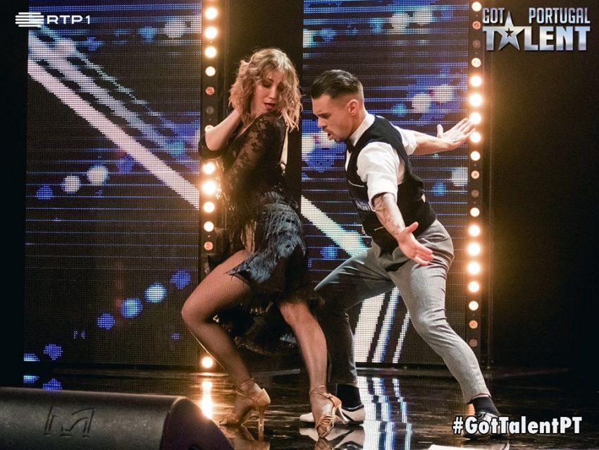 Vadim e Elena, dança