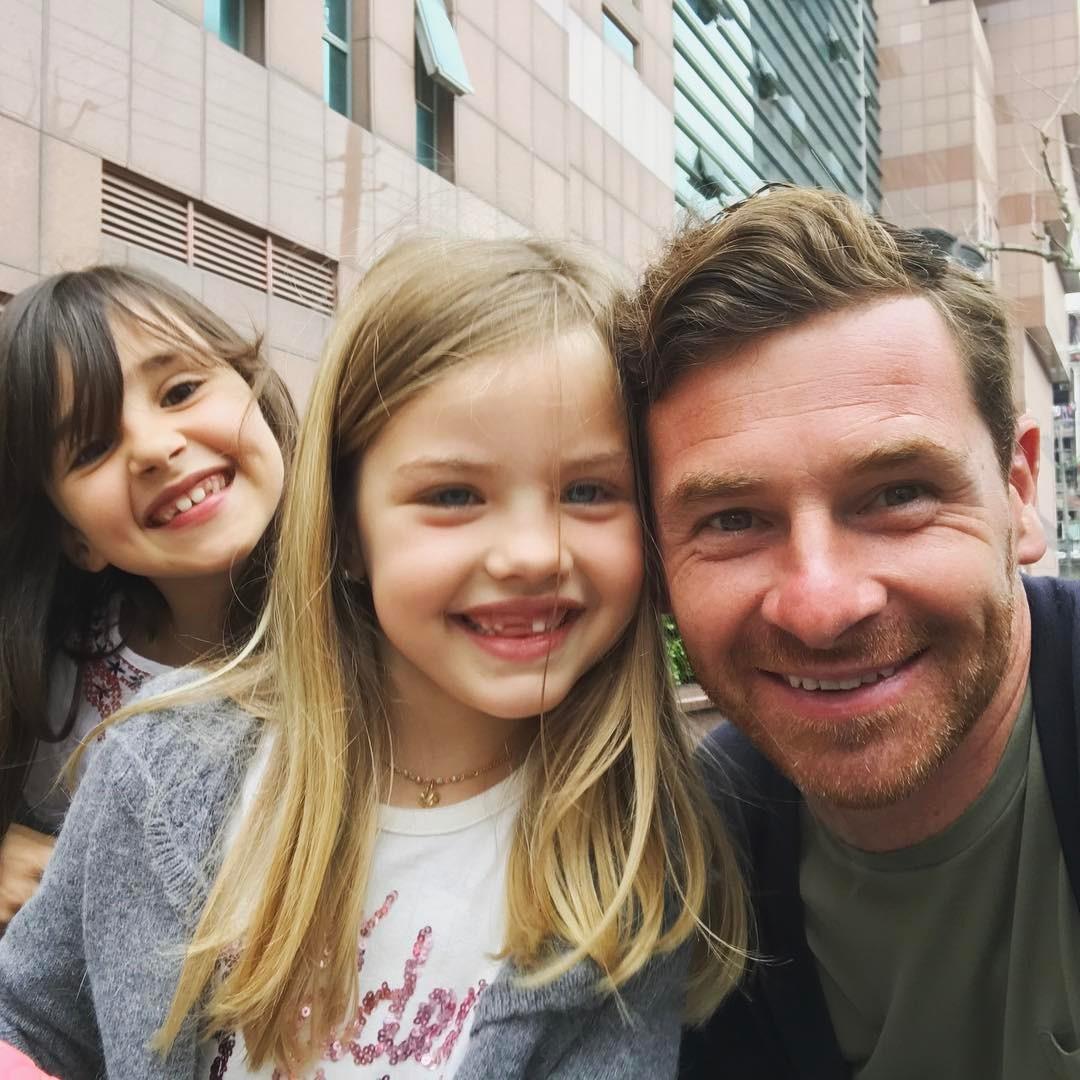 André Villas Boas e filhas