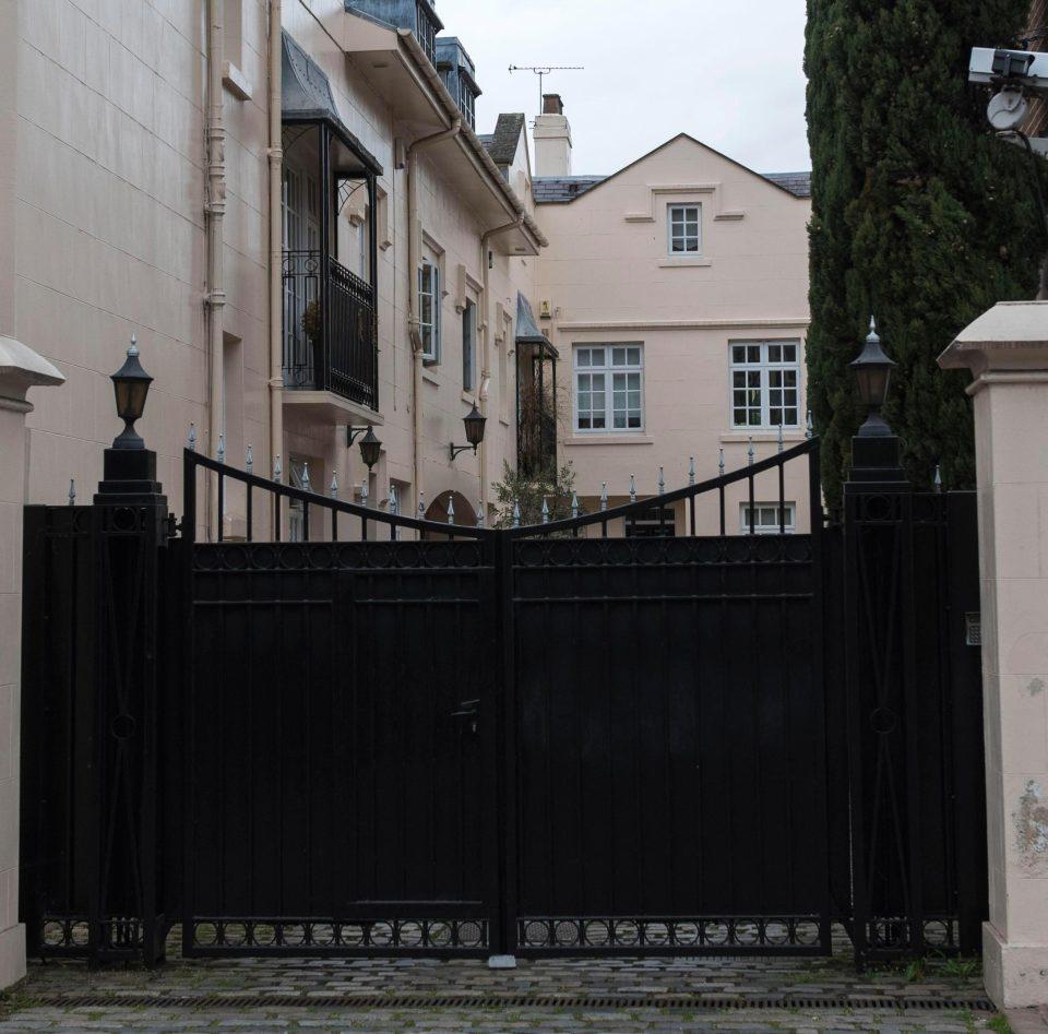 Casa de George Michael em Regent's Park Londres, onde viveu com Fadi Fawaz