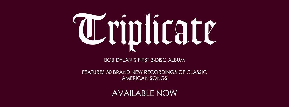 Triplicate triplo álbum de Bob Dylan