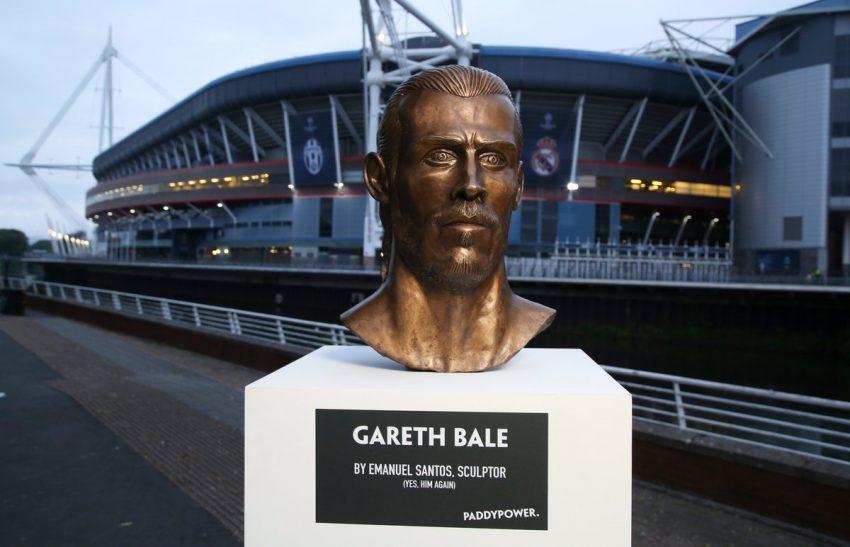 Após CR7, artista português faz busto de Gareth Bale