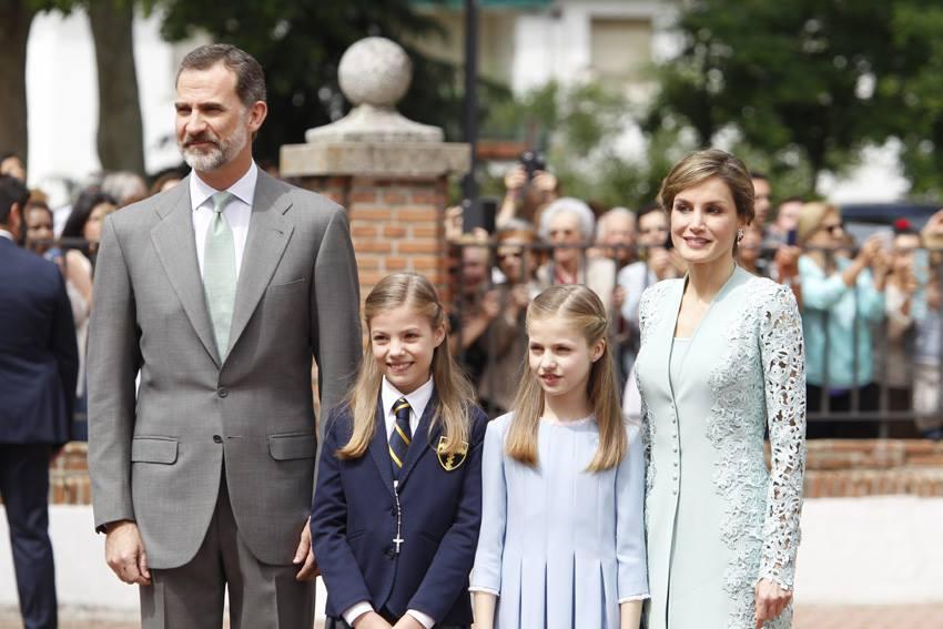 Fotos: A 1ª comunhão da infanta Sofia de Espanha