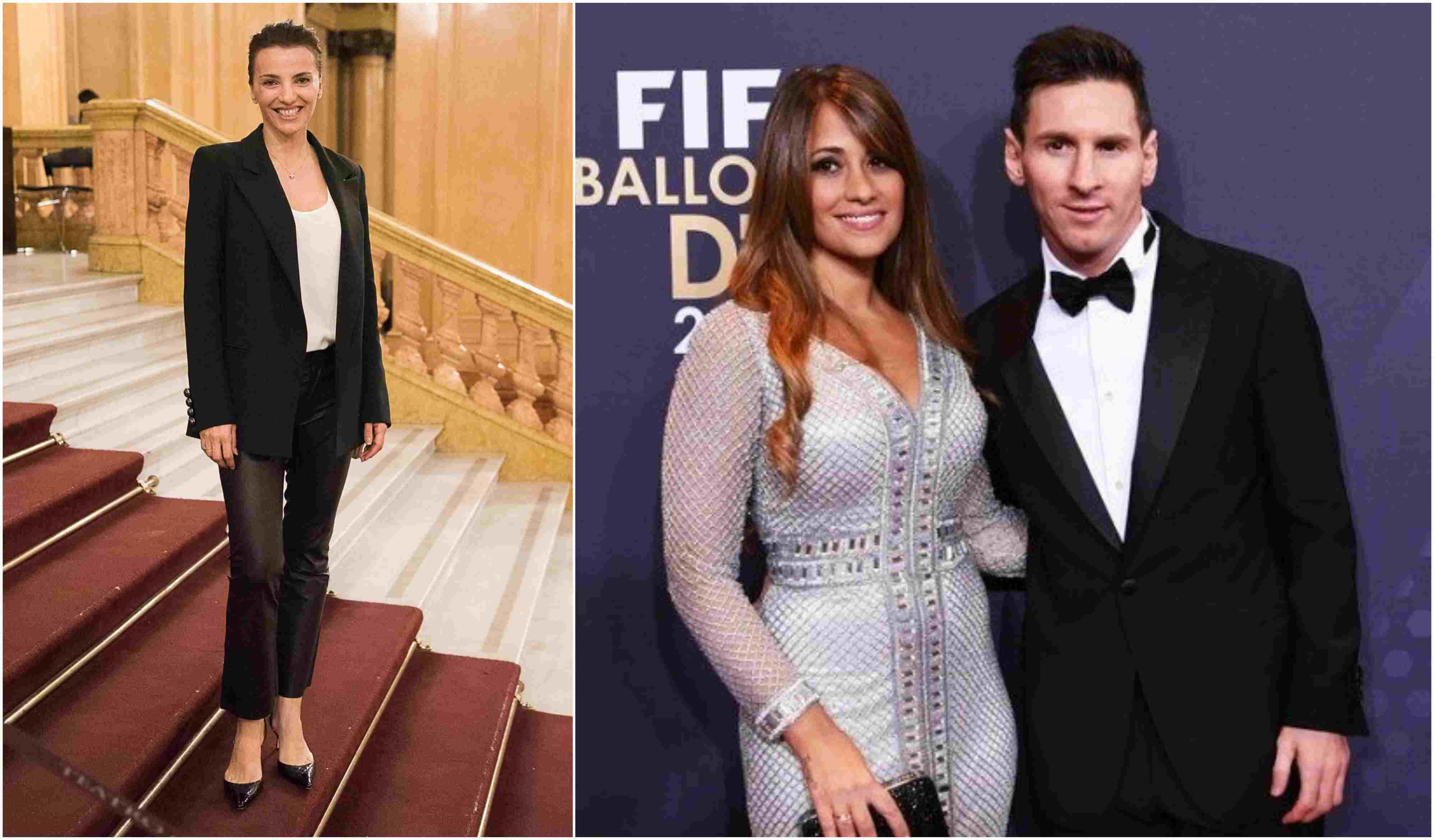 Foto de Messi em Ibiza viraliza por estado do seu joelho direito