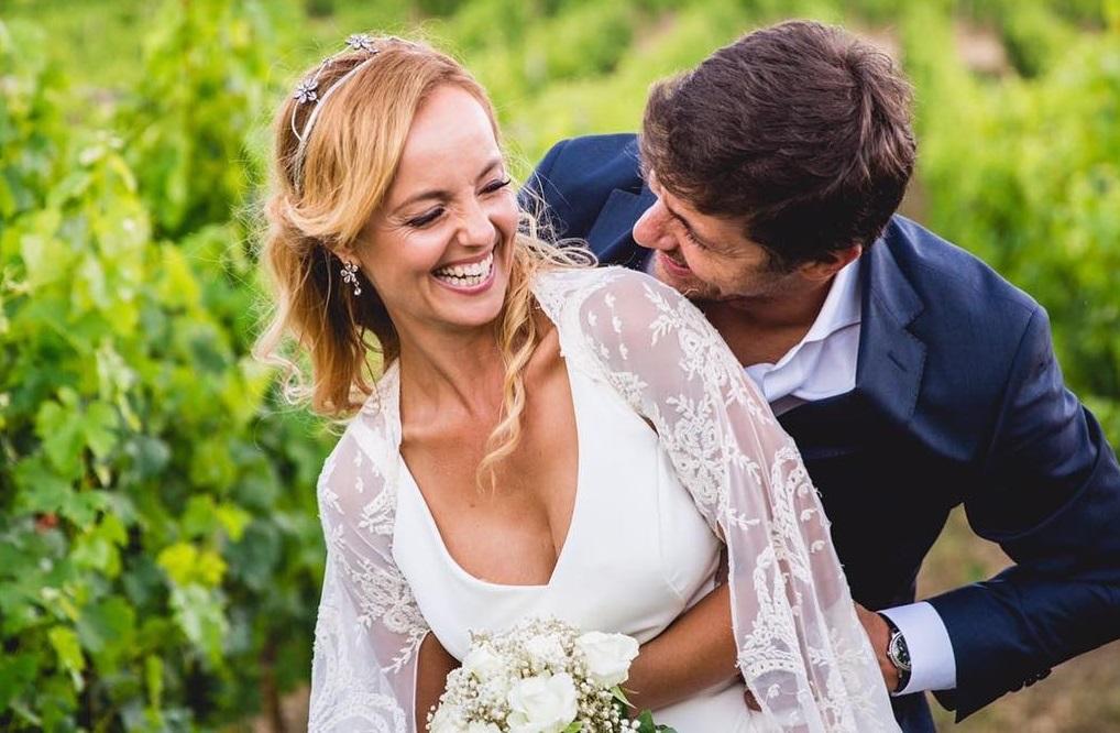 Bárbara Norton de Matos mostra casamento