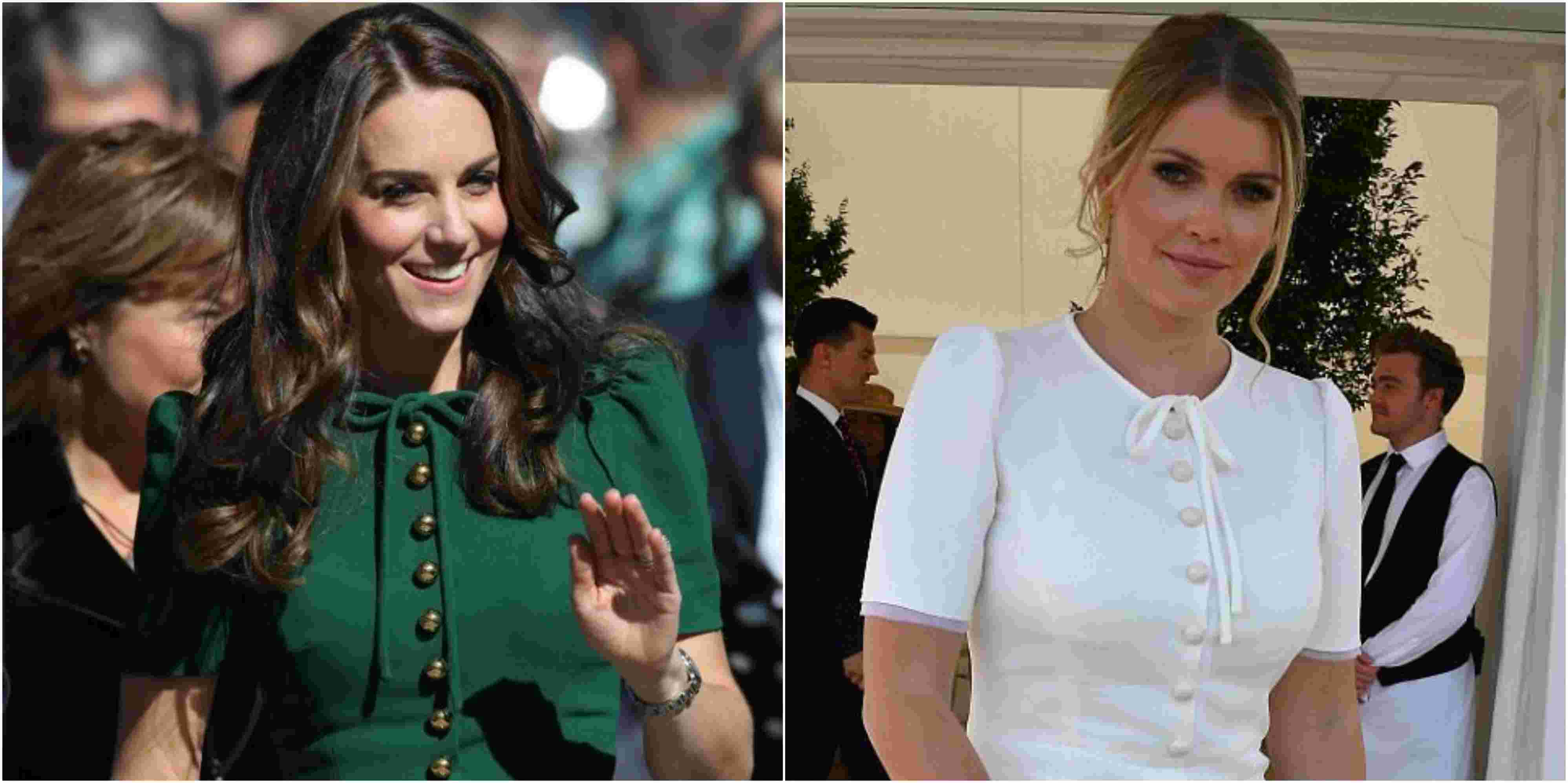 Vestido De Kate Middleton Faz Sucesso Entre Familiar De
