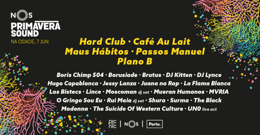 Passatempo: queremos levar-te à after-party do NOS Primavera Sound!