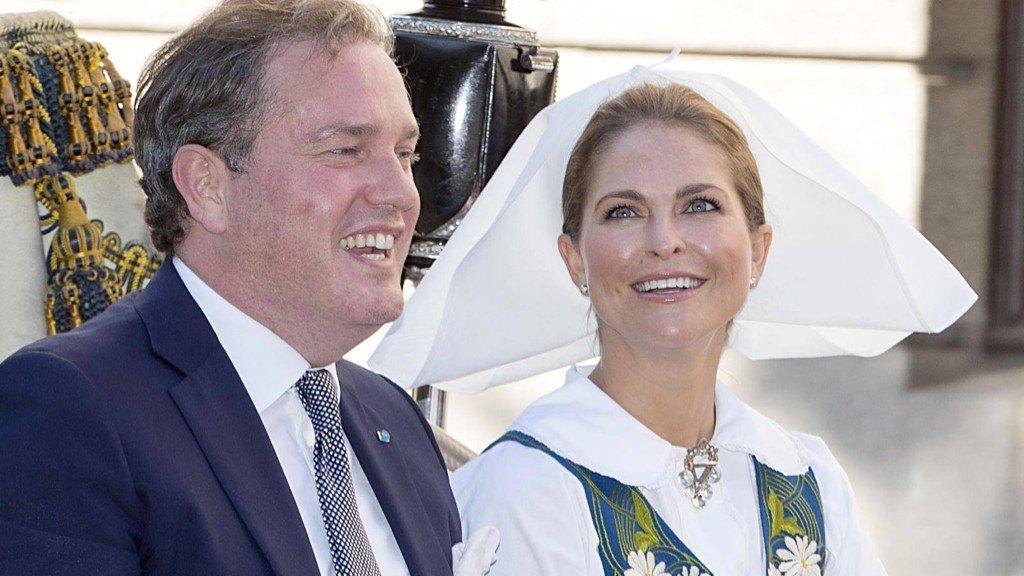Princesa Madalena da Suécia está grávida