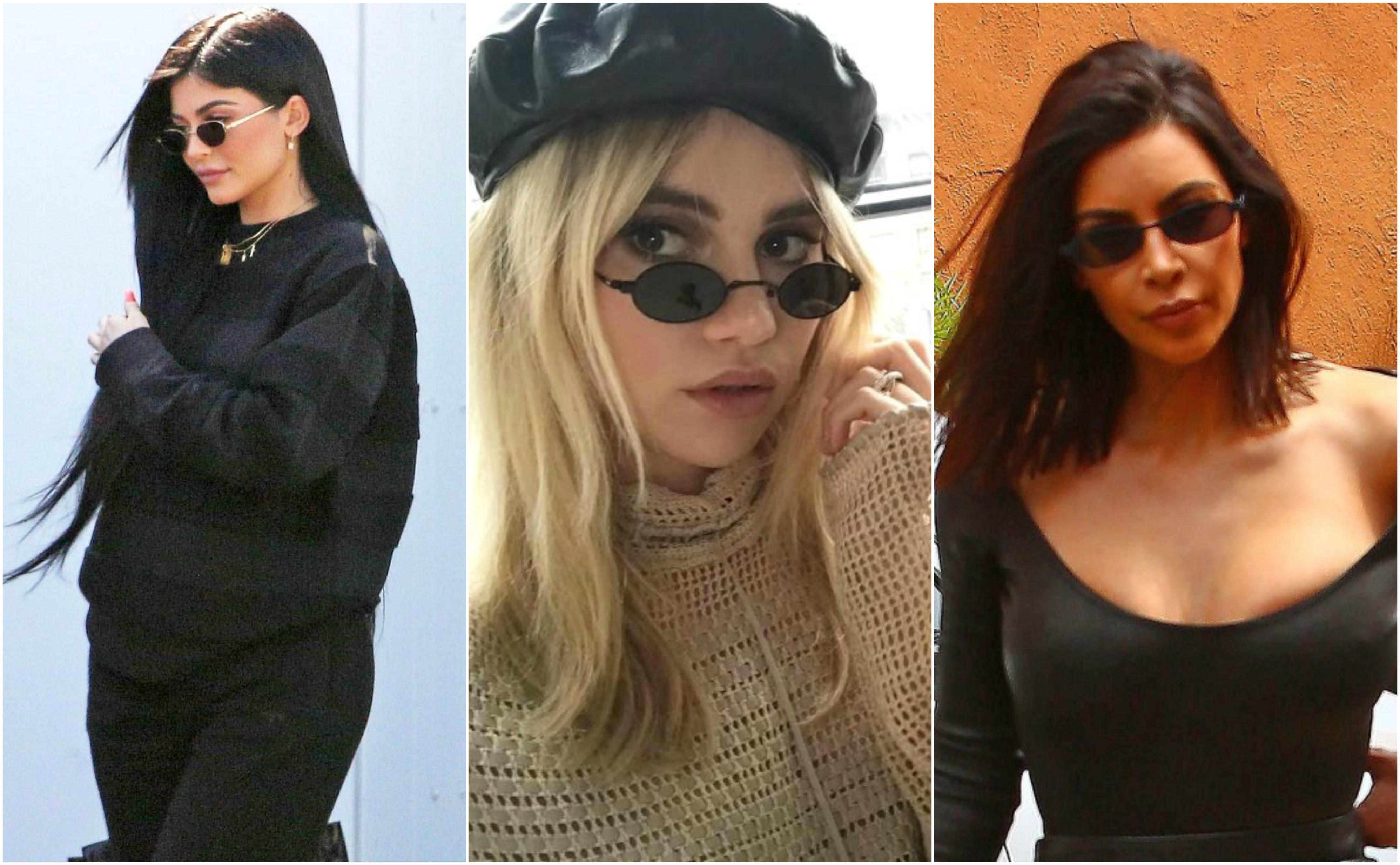 c86d482b07618 Kendall Jenner, Kylie Jenner, Kim Kardashian, Suki Waterhouse, Rihanna,  Selena Gomez e Cara Delevingne são outras das caras conhecidas a aderir a  este ...
