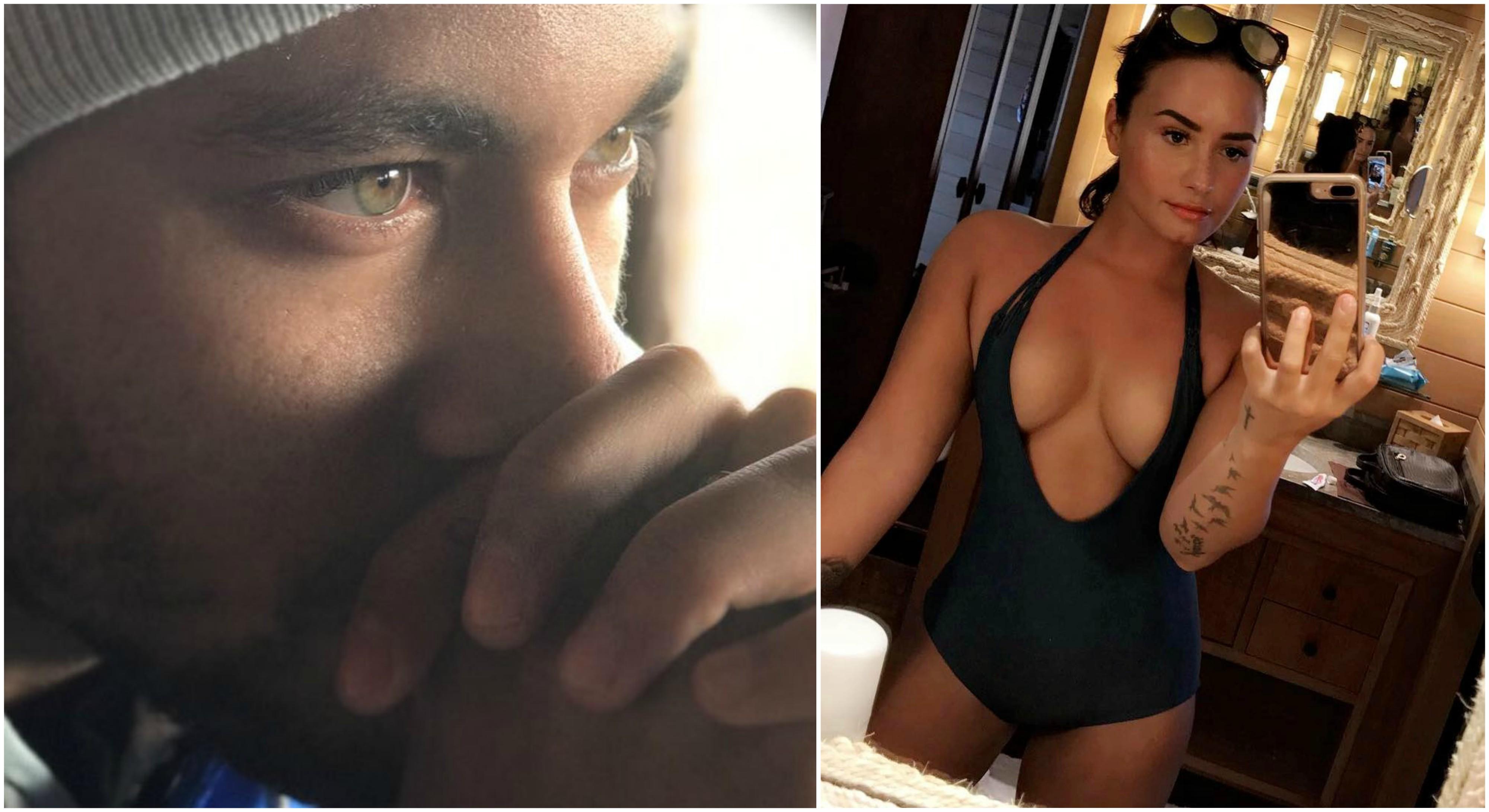 Neymar vinga-se de Bruna Marquezine com mensagem carinhosa para Demi Lovato