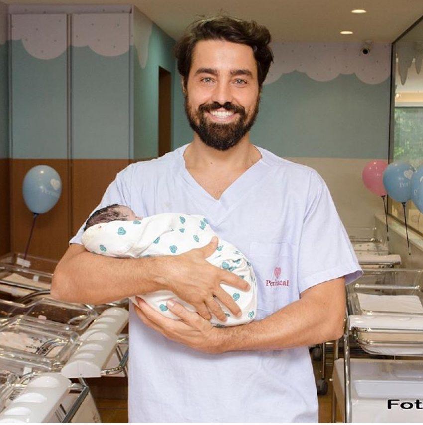 Nasce terceira filha de Ricardo Pereira
