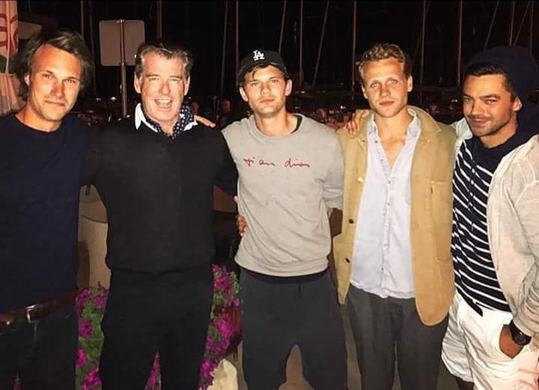 Pierce Brosnan Mostra Bastidores De Mamma Mia 2