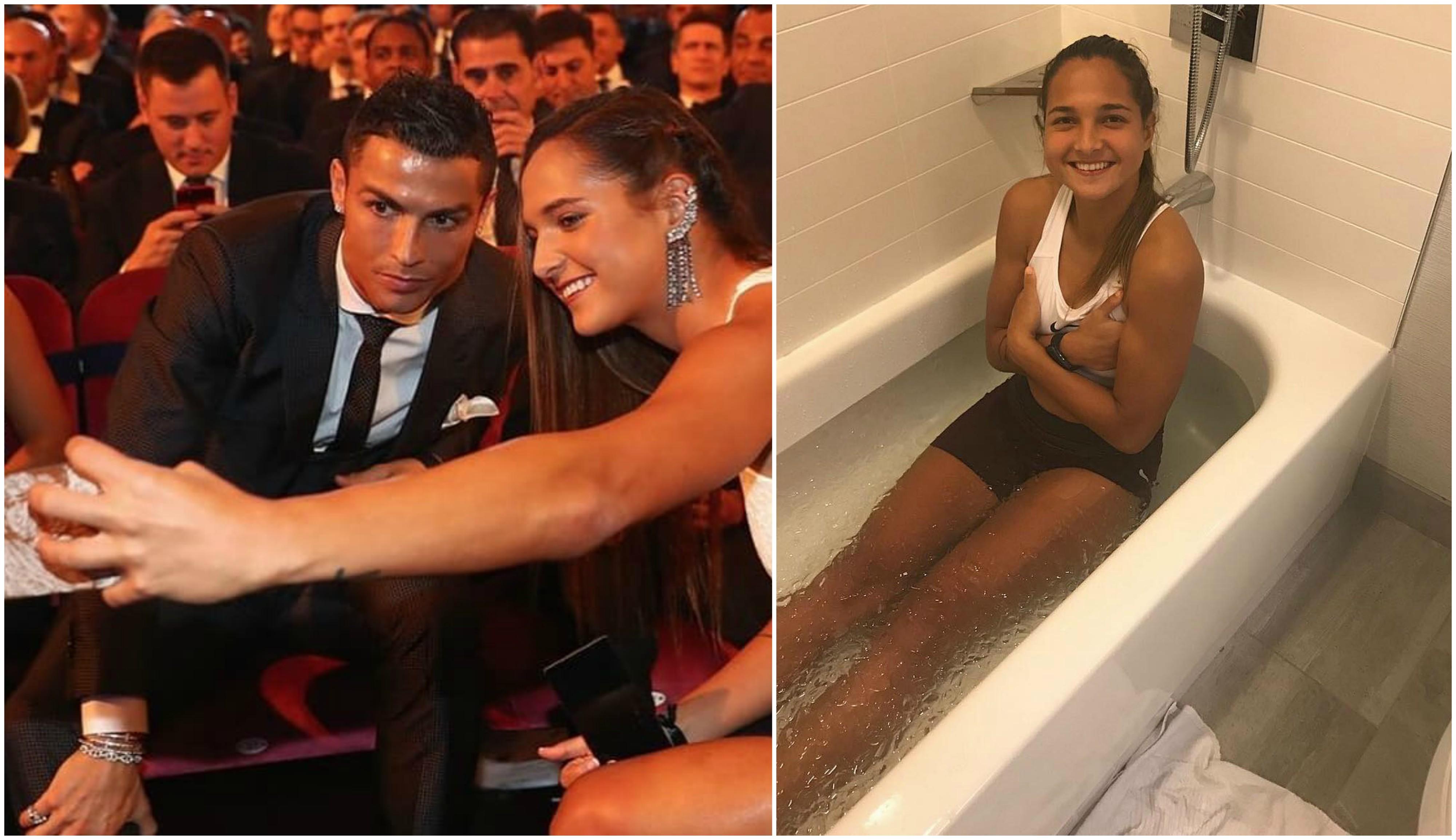 Alana Martina é o nome escolhido para a filha de Cristiano Ronaldo