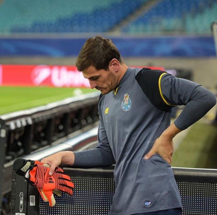 Discussão entre Casillas e Conceição?