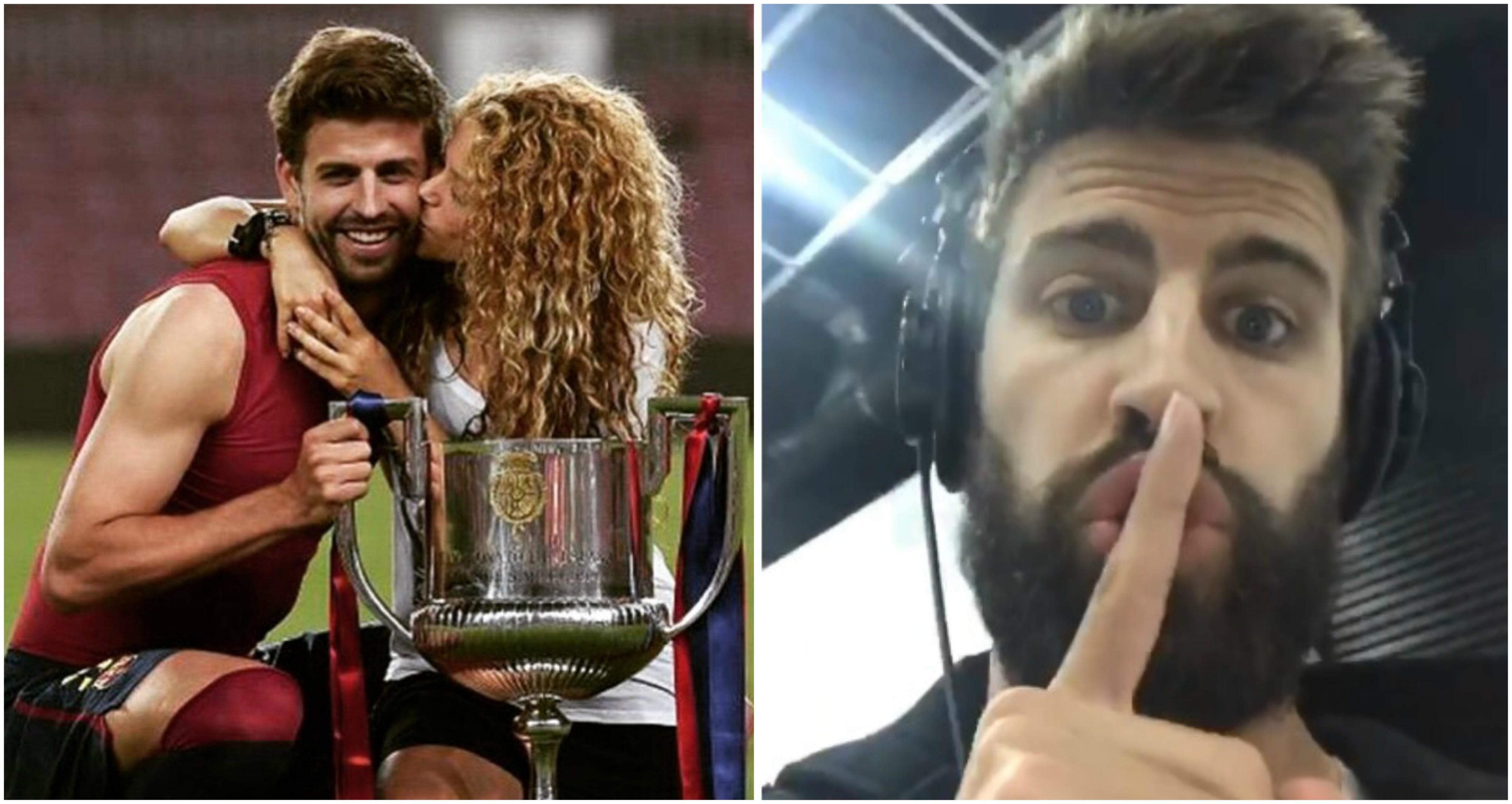 Shakira e Piqué contrariam rumores de separação