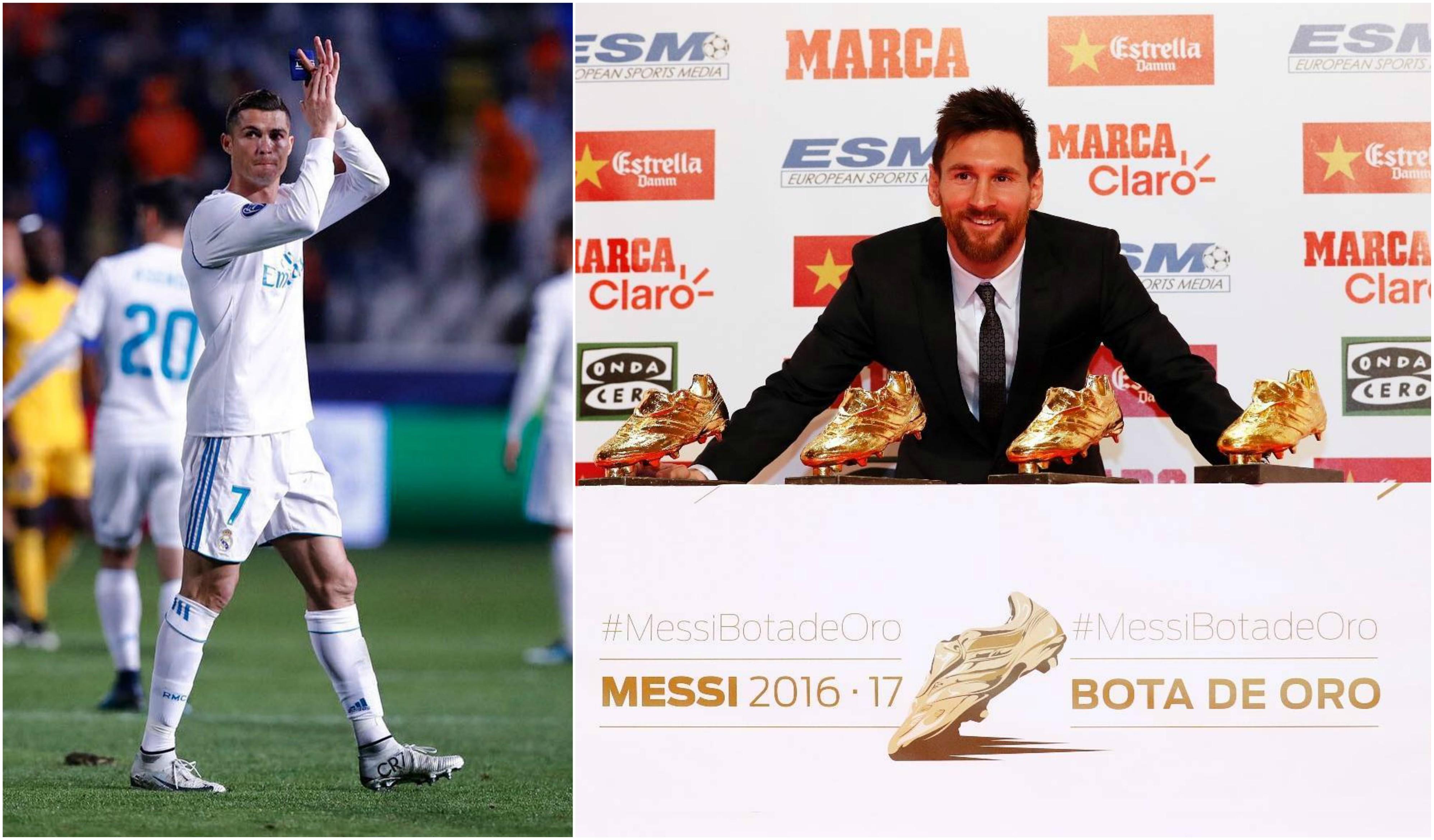 Messi recebe sua quarta Chuteira de Ouro