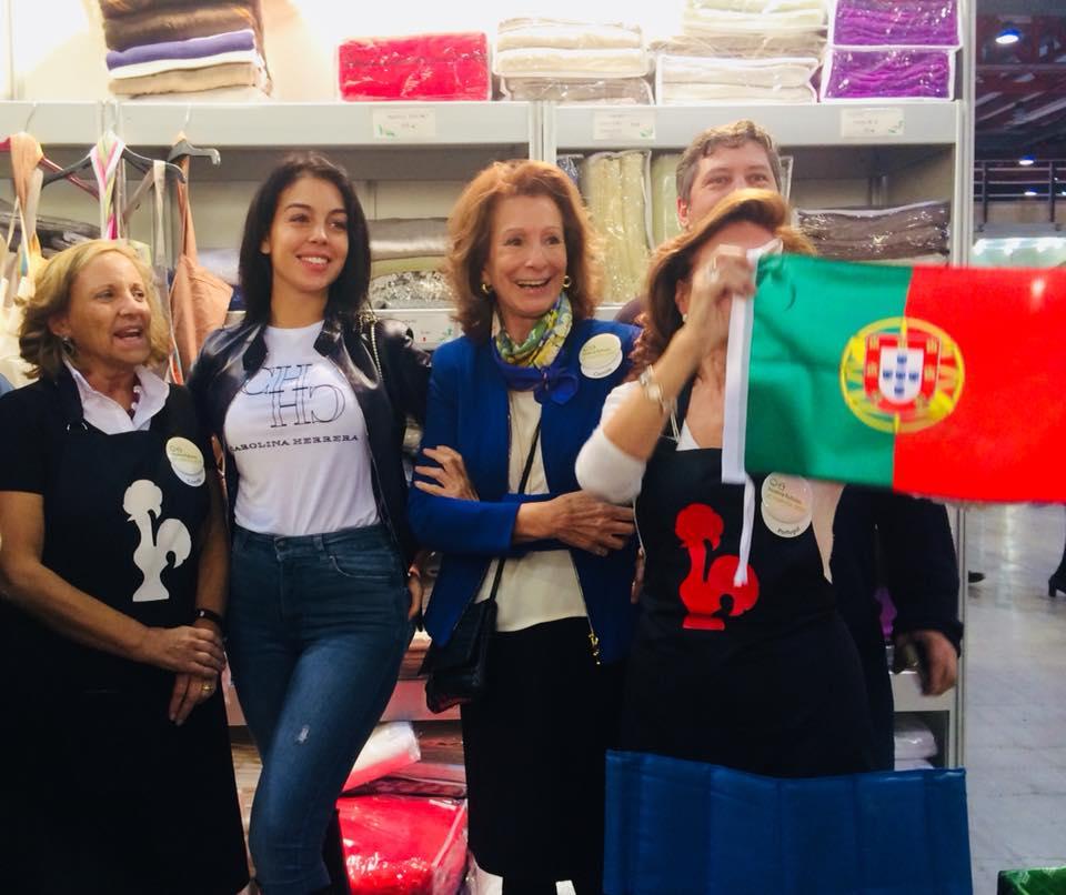 Georgina Rodríguez 'faz perninha' como embaixadora de ...