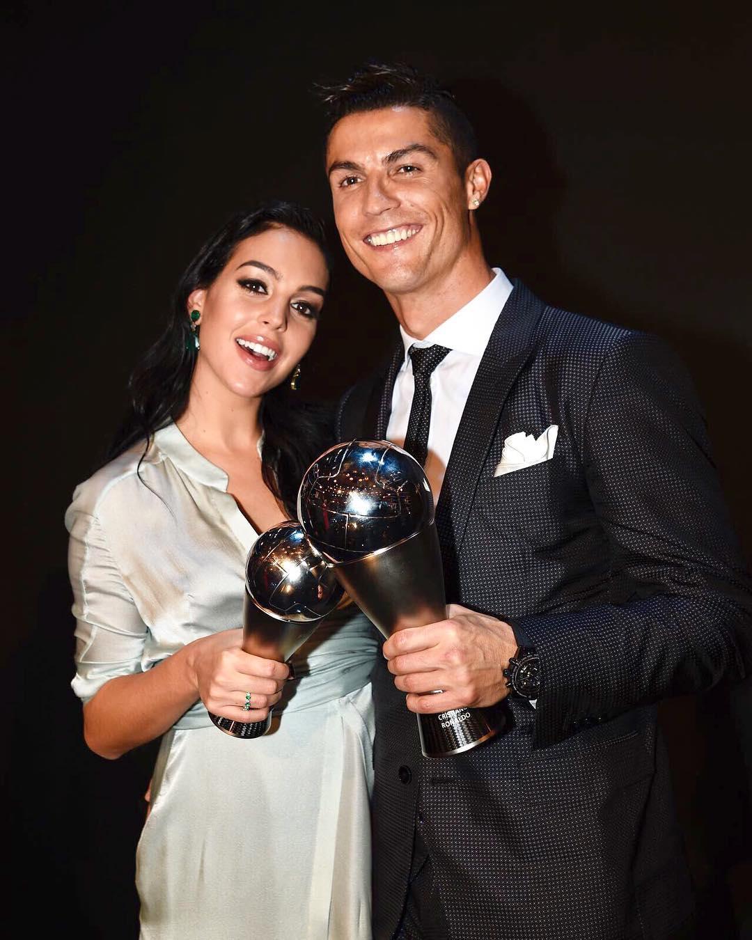 Georgina dedica mensagem emotiva a Cristiano Ronaldo