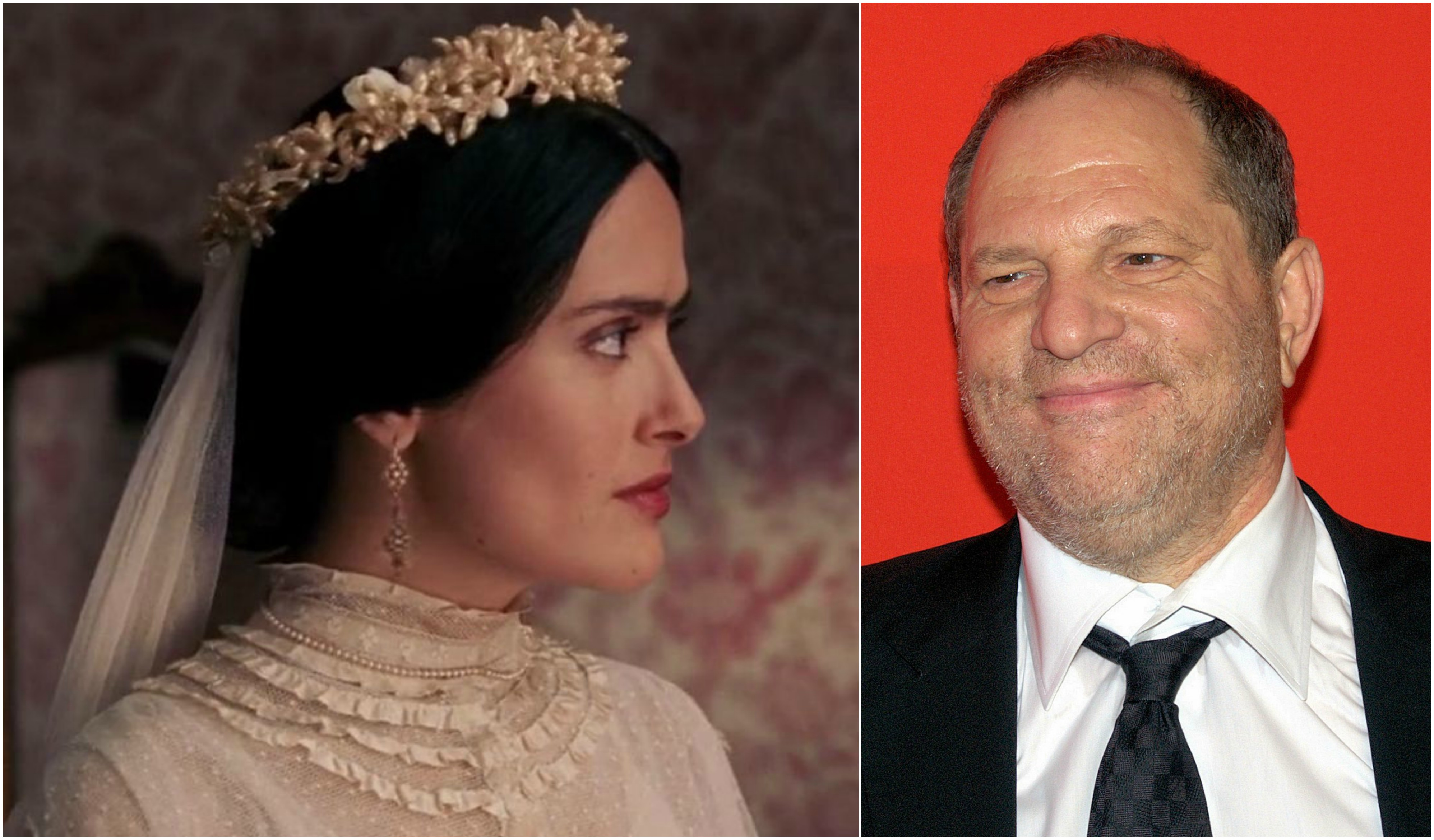 Salma Hayek levanta novas acusações contra Harvey Weinstein