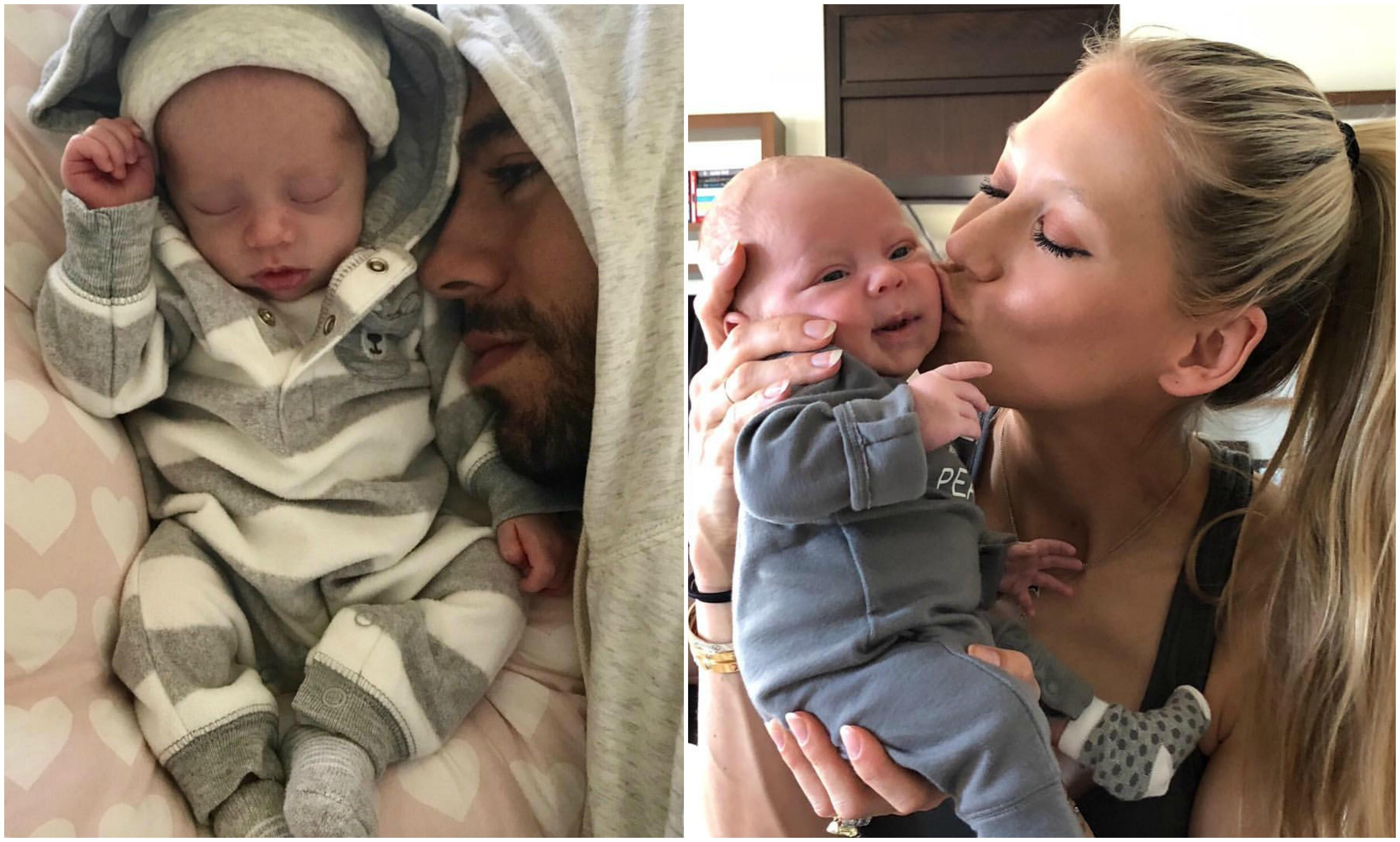 Enrique Iglesias mostra um dos filhos pela primeira vez