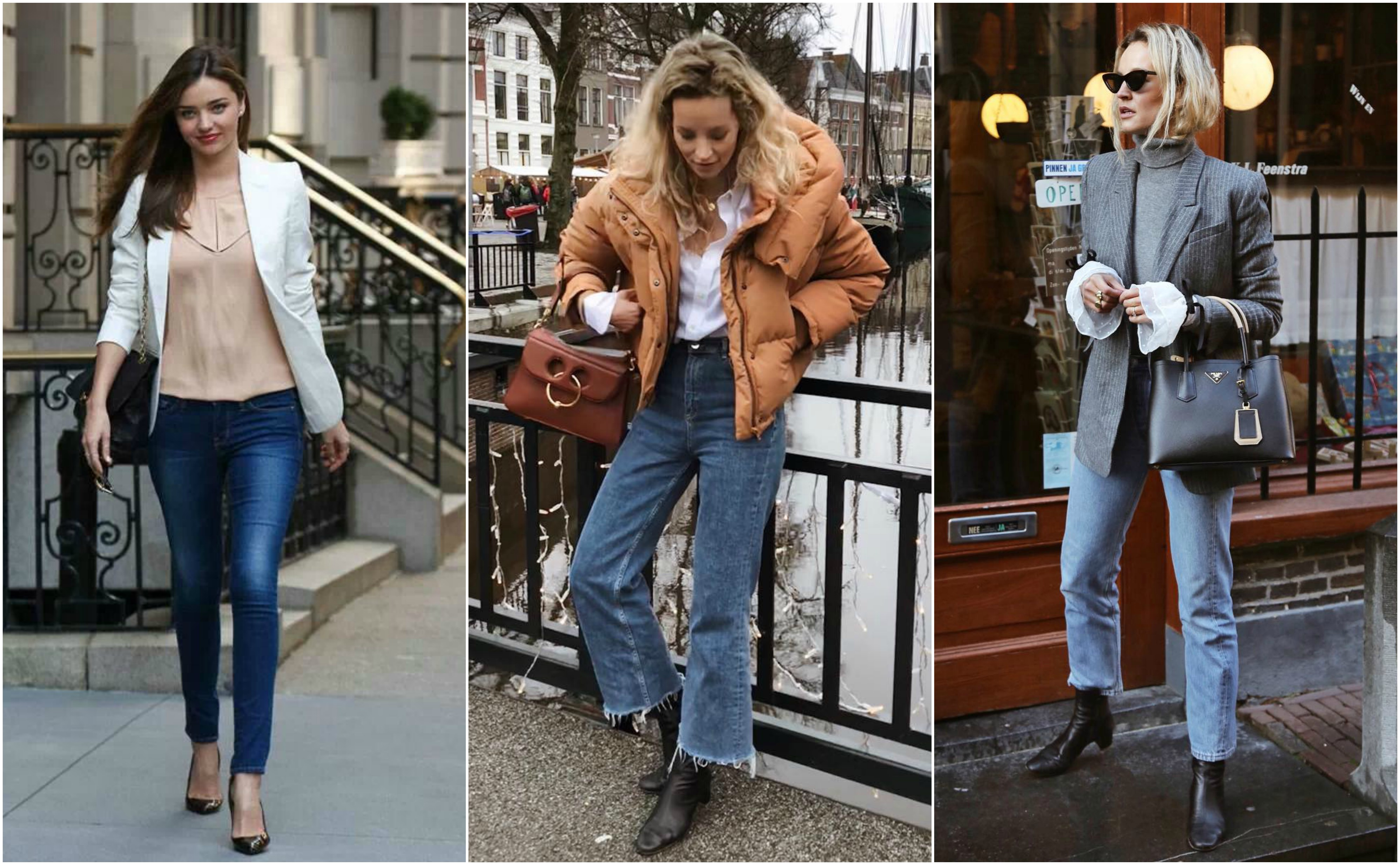 Look Masculino com Cachecol, Jaqueta Jeans, Calça Skinny