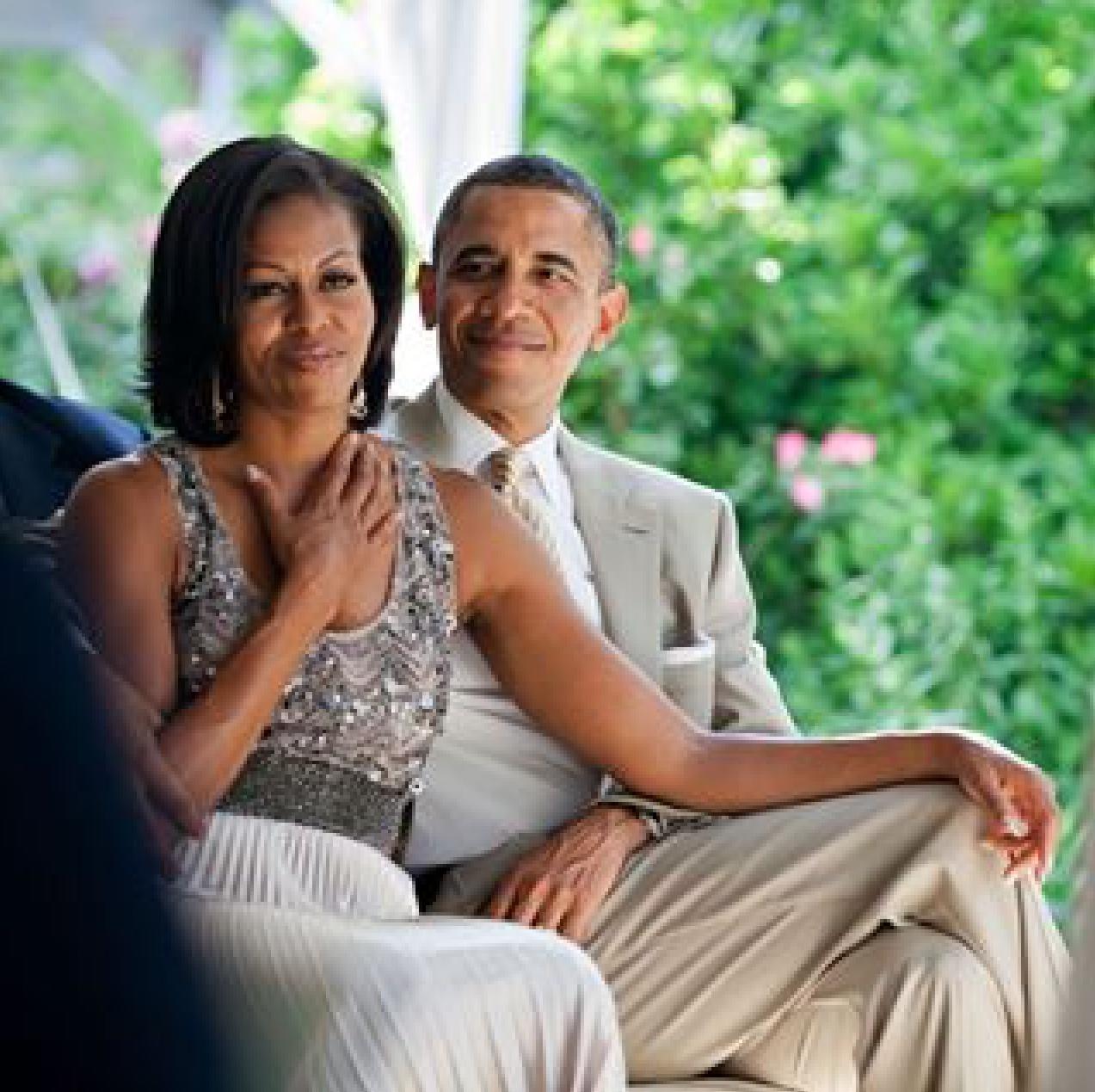 Michelle Obama ganha declaração de Barack Obama