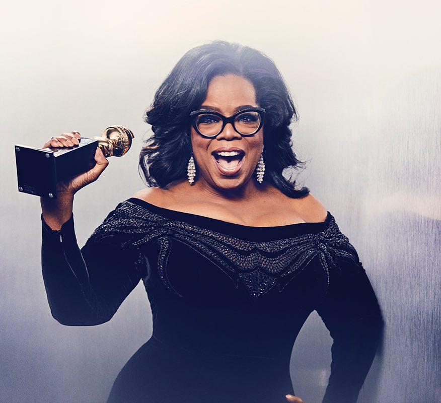 Globos de Ouro. Oprah Winfrey fala sobre assédio e racismo |VÍDEO