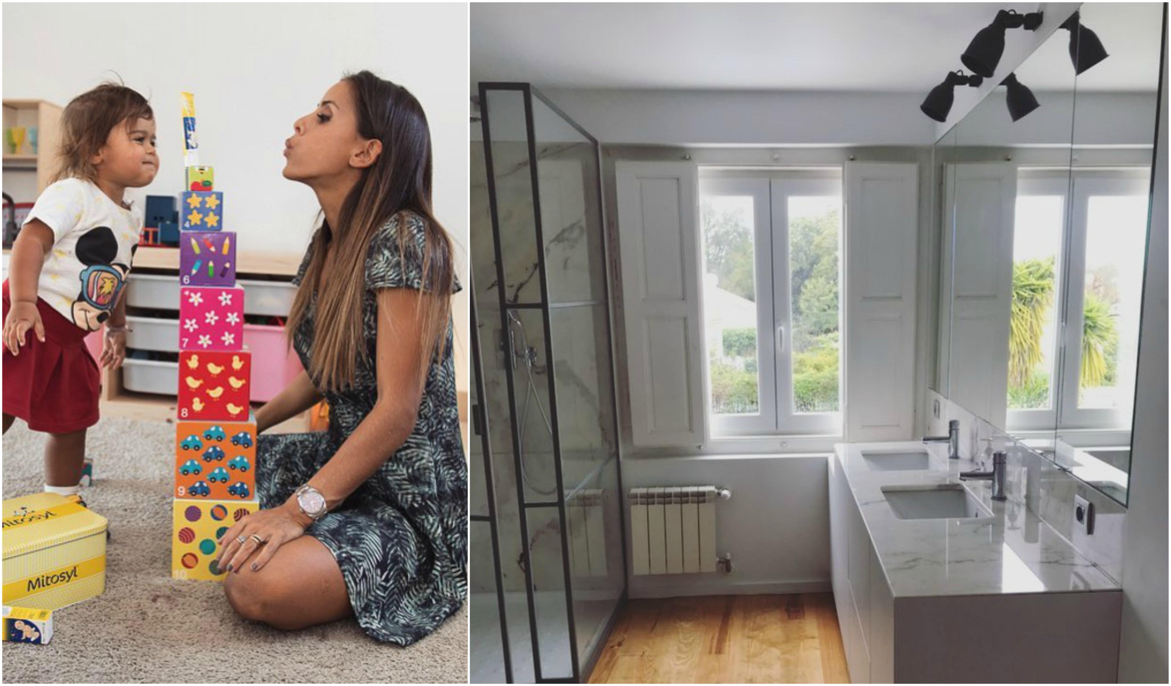 Carolina patroc nio mostra novo lar antes da chegada do for E casa com