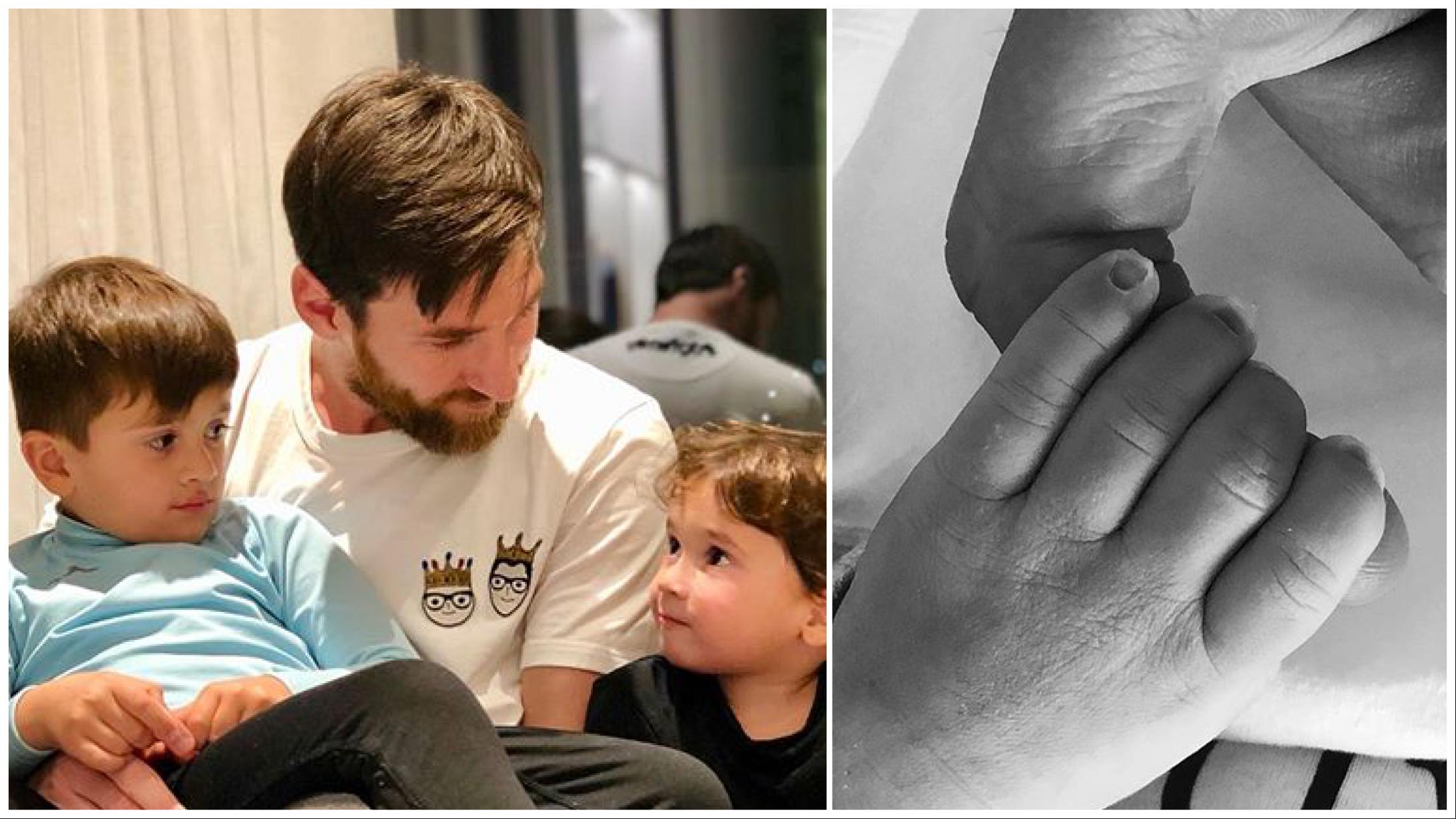 Terceiro herdeiro: Messi anuncia o nascimento de Ciro