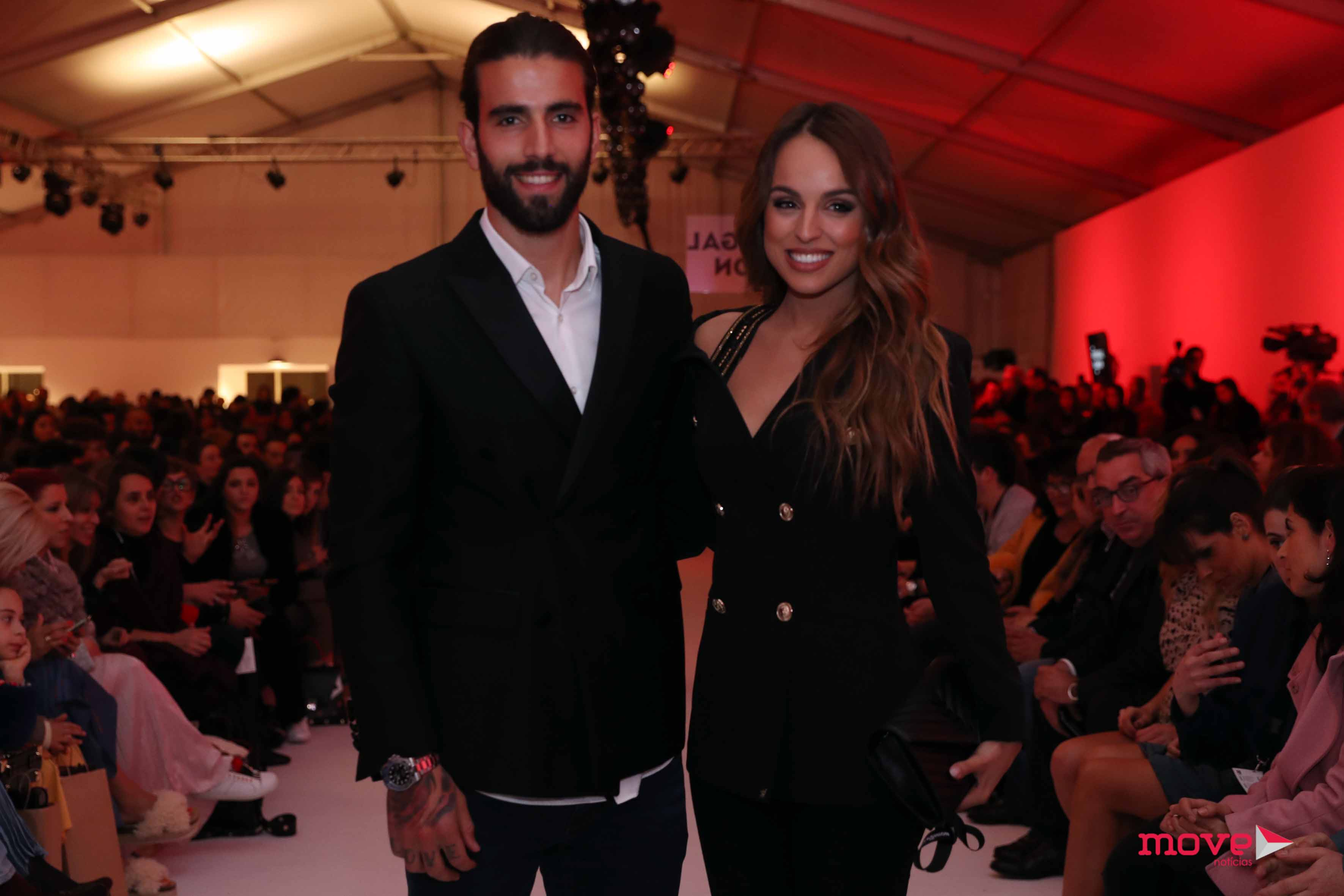 67734edee ... Gonçalves Pereira deram nas vistas no segundo dia de Portugal Fashion  no Porto. Sem jogos este fim de semana
