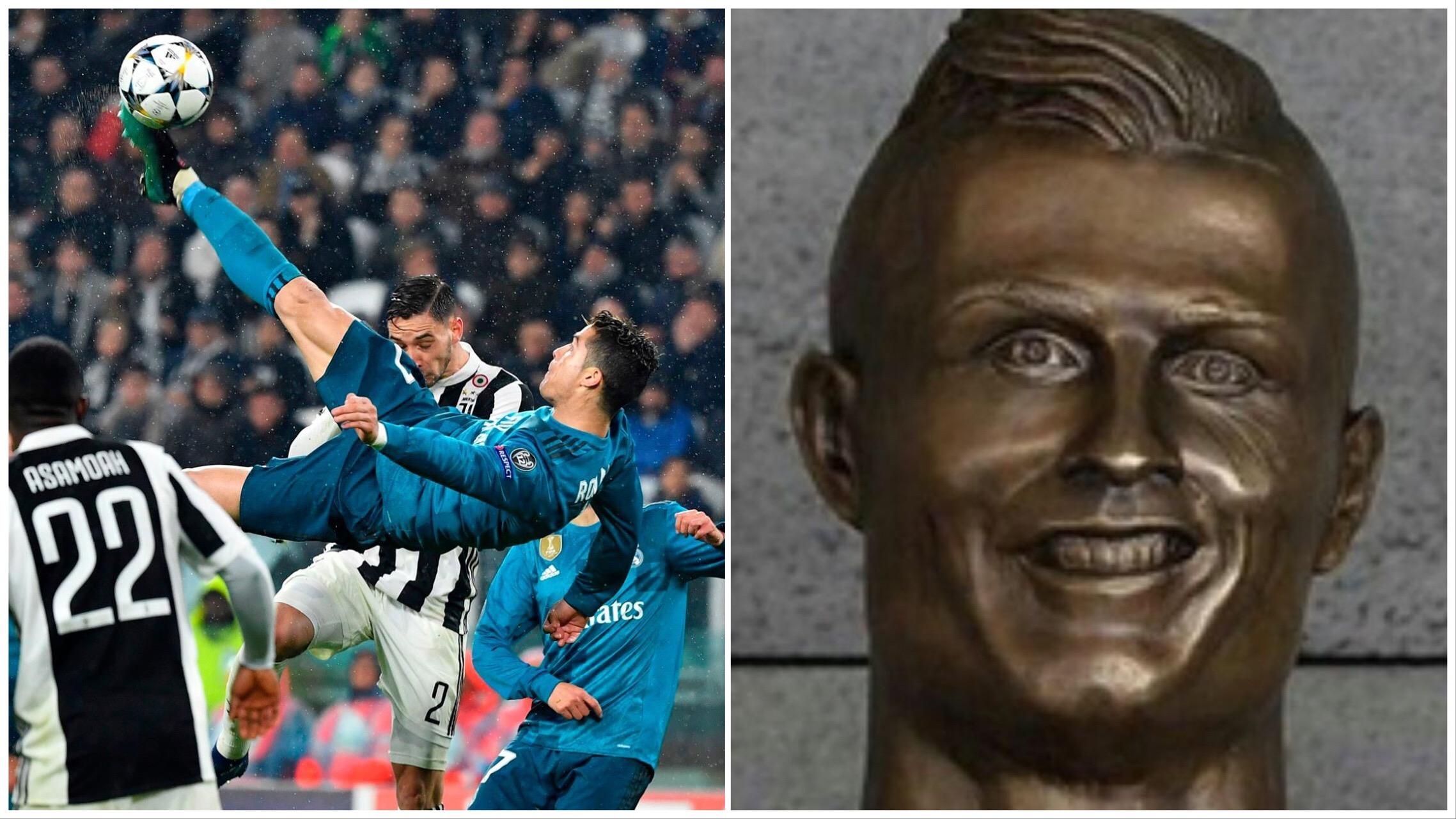Cristiano Ronaldo fala sobre golaço e imprensa se rende: