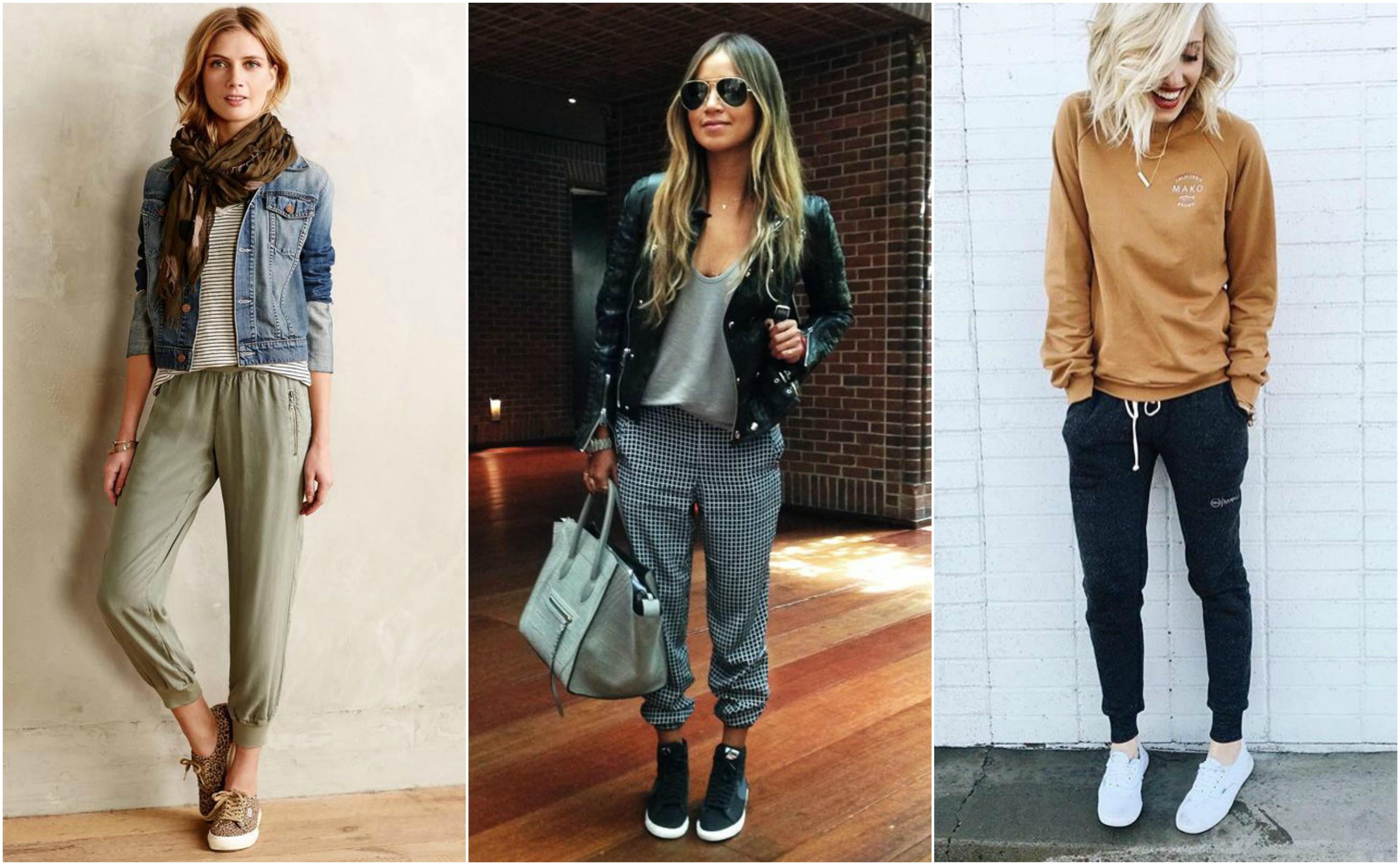 Tá na moda: como usar calça jogging. Veja fotos da tendência