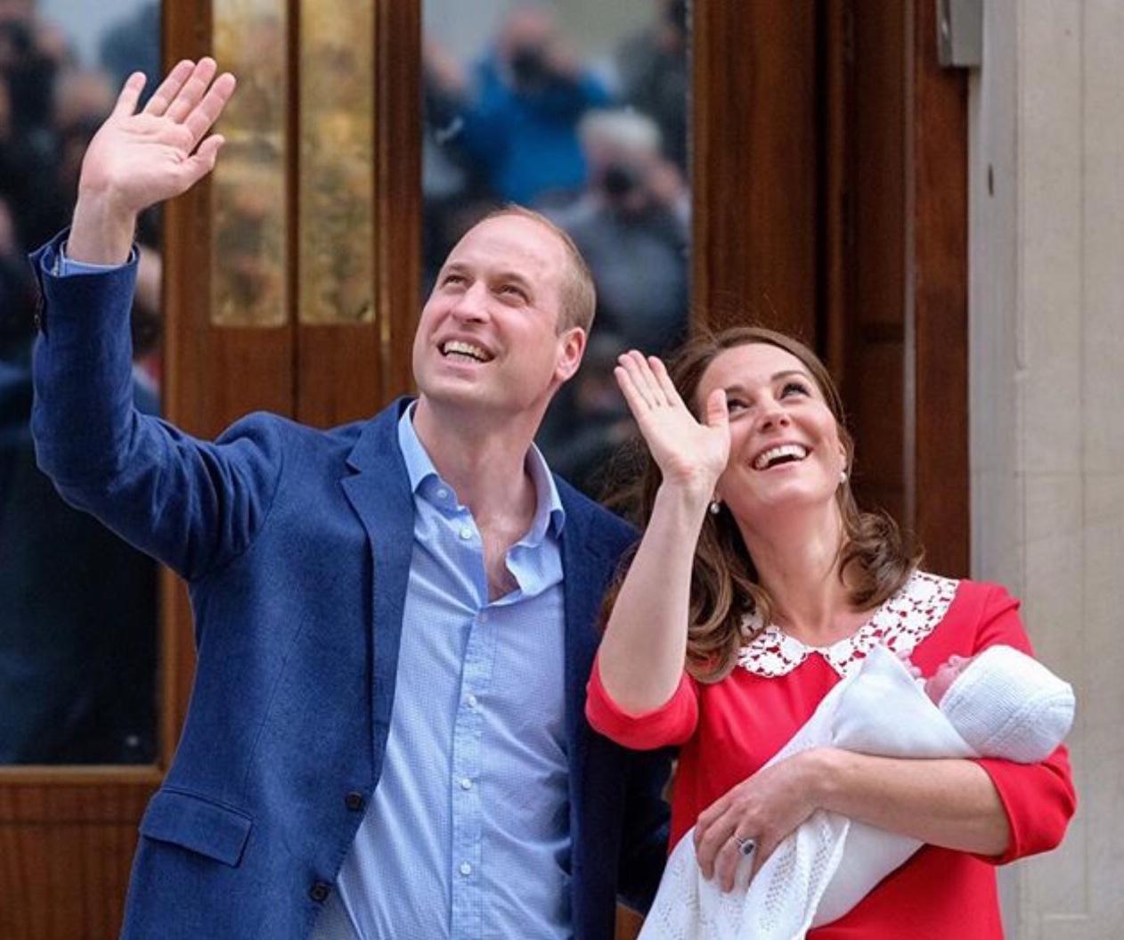 Kate Middleton já está em trabalho de parto!