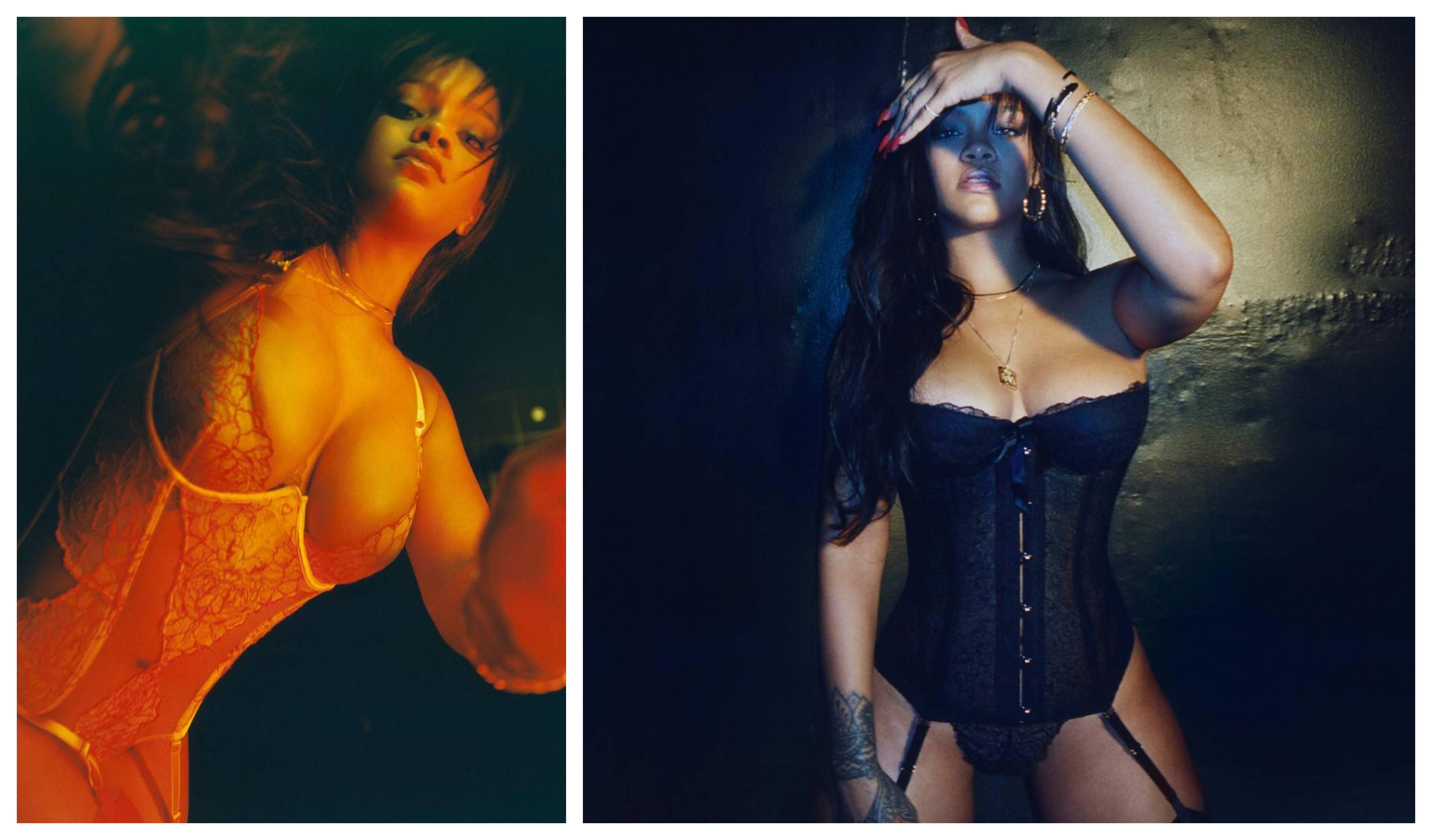 ec82a5ef4 Rihanna lança linha de lingerie para todos os tamanhos e ousadias ...