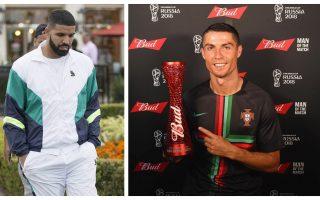 f1bc2433e Drake diz em nova música que vive como Cristiano Ronaldo