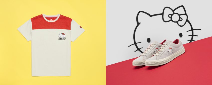 ff97ffbe385 Hello Kitty x Converse  marcas icónicas unem-se com estilo ...