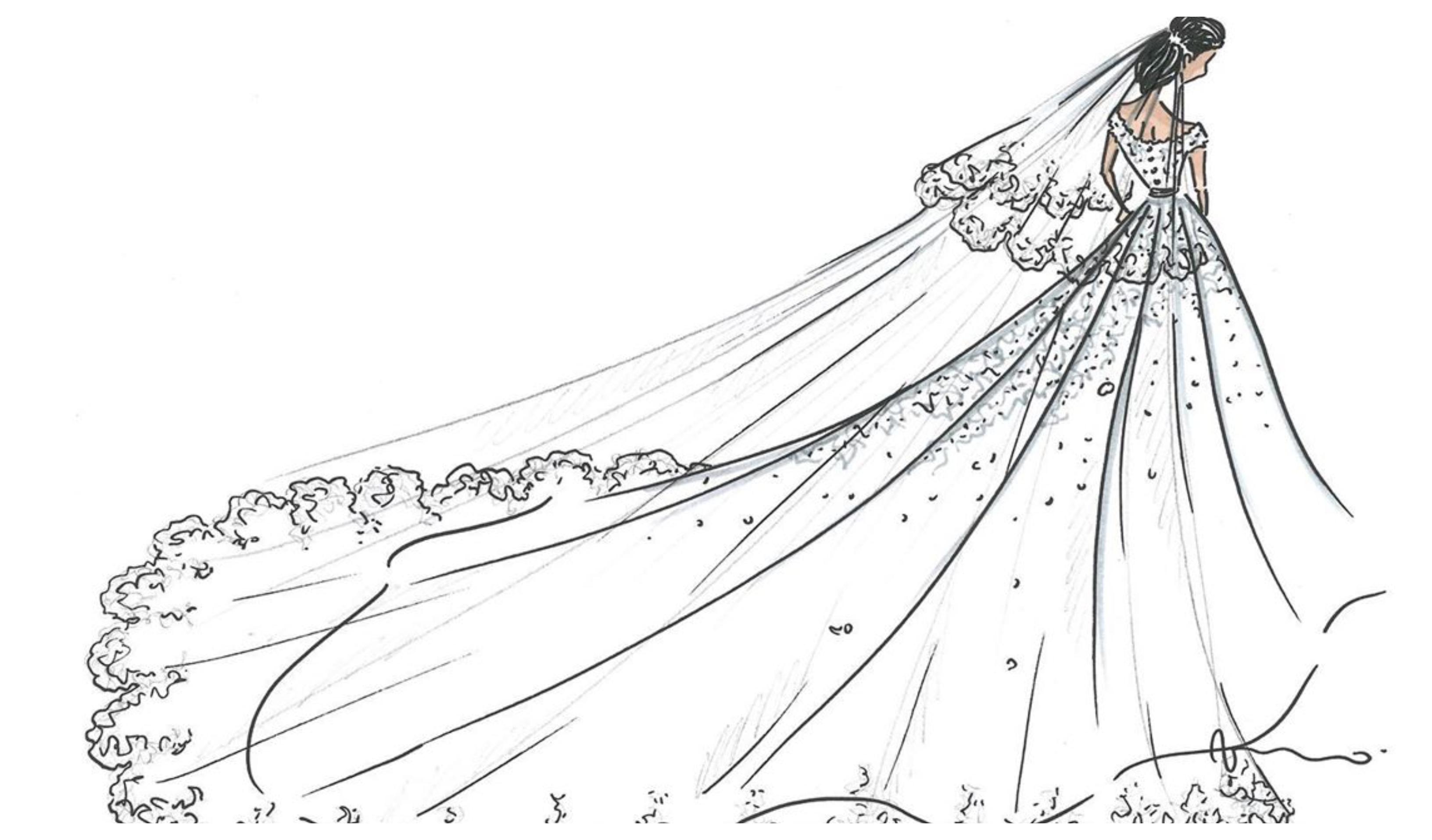 Para Uma Cunhada Engraçada: Segundo Vestido De Noiva De Marie Chevallier é Uma Criação
