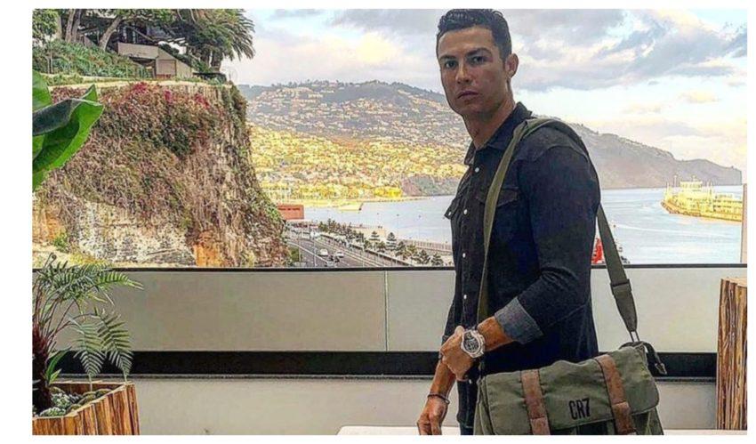 Cristiano Ronaldo regressa à Madeira com toda a família